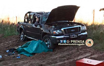 Fallece una persona en accidente en la Ruta 5