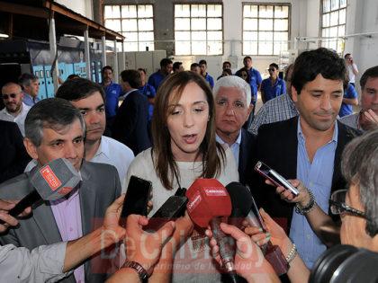 La gobernadora María Eugenia Vidal visitó Chivilcoy