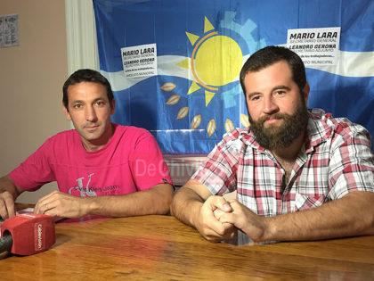 [VIDEO] Elecciones Municipales: Fue presentada la lista que encabezan Mario Lara y Leandro Gerona