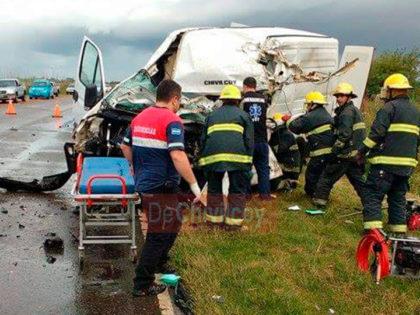 [ANTICIPO] Un herido de gravedad en accidente en Ruta 30
