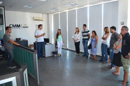 Capacitación para los supervisores del Centro de Monitoreo Municipal