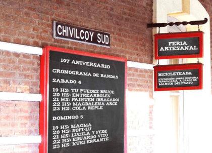Se celebra el 107° aniversario de la Estación Chivilcoy Sur