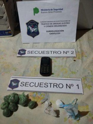 Anoche: Detenido por comercialización de drogas