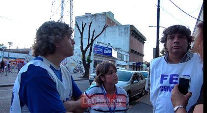 [VIDEO] Los docentes se movilizaron en rechazo a la propuesta salarial de la provincia