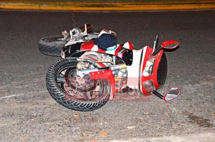 Esta madrugada: Un herido de gravedad en accidente de tránsito