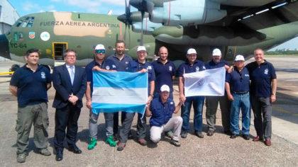 Asistencia Argentina a Perú tras la catástrofe ambiental