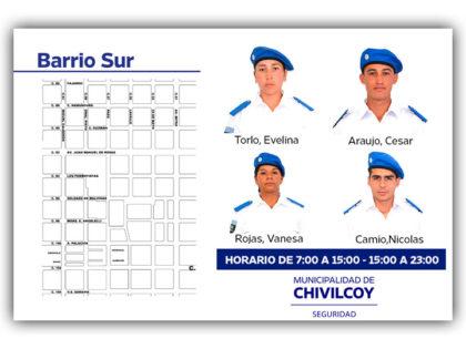 Policía Local: Binomios Barrio Sur (Zona CIC)