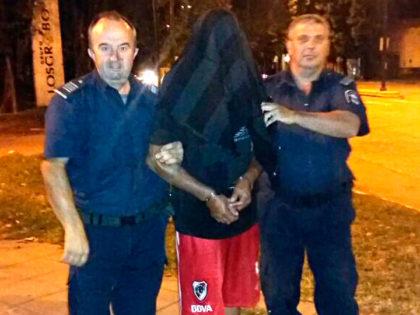 Un detenido por resistencia a la autoridad y amenazas