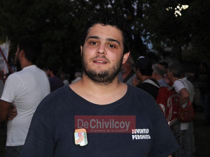 """[VIDEO] Nicanor Feo, Juventud Peronista """"Como todos los años en la conmemoración de ese golpe de estado tan sangriento"""""""