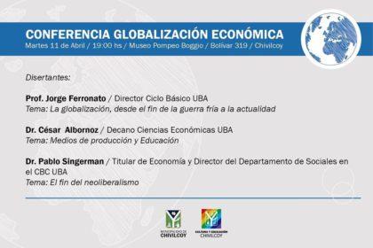 """Ciclo Taller Cultura 2017: """"Globalización económica"""" con la visita de directivos de la UBA"""