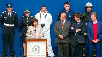 Bullrich presentó la nueva Policía Federal Argentina