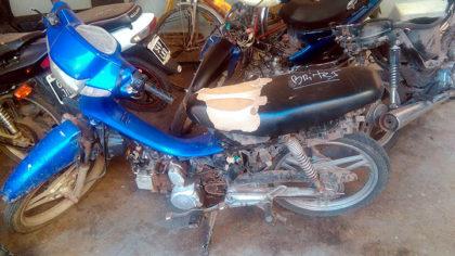 Secuestran una motocicleta sustraída meses atrás