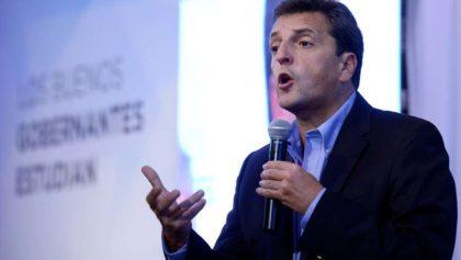 """Sergio Massa: """"La educación no es un botín de guerra político"""""""