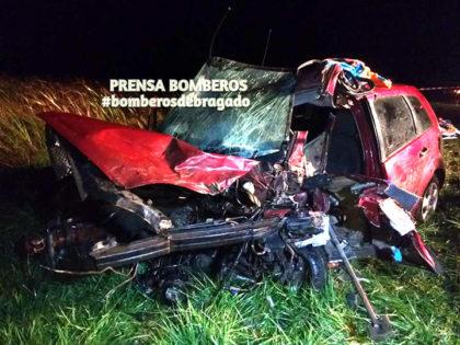 Anoche: Fallece una persona en accidente sobre Ruta 5 en jurisdicción de Bragado