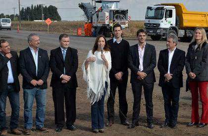 El gobierno bonaerense anunció el plan de vialidad