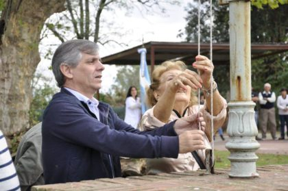 El intendente presidió el acto por el 106° aniversario de Indacochea
