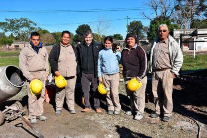 El intendente recorrió la ampliación del Hospital de Moquehuá [Video]
