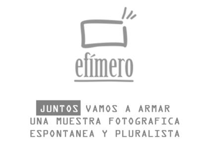 """Se realizará una muestra fotográfica del proyecto """"Efímero"""""""