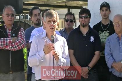"""1° de Mayo en Chivilcoy: La CGT convocó """"unión"""" y """"lucha"""" por los trabajadores de SanCor y Paquetá [VIDEOS]"""
