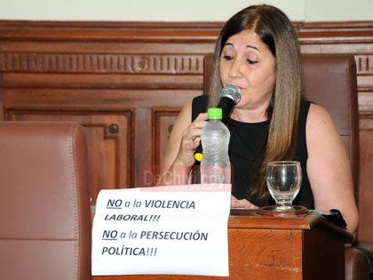 Apoyo del Bloque FPV-PJ al reclamo docente en la última sesión del Honorable Concejo Deliberante