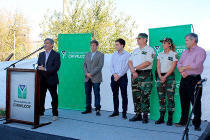 El intendente inauguró el Comando de Prevención Rural