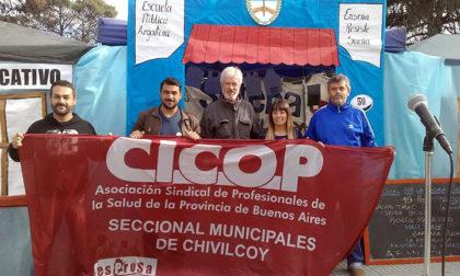 CICOP se declara en estado de asamblea permanente y emergencia de la salud pública de Chivilcoy
