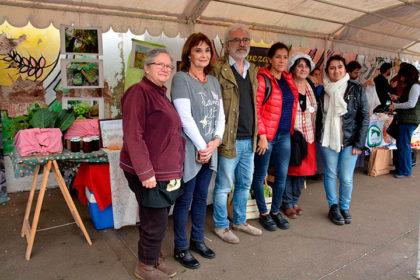"La Feria de la Huerta a la Mesa se desarrolló en la Plaza seca ""La Perla del Oeste"""