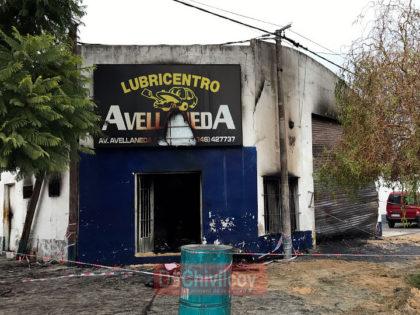 Incendio en el lubricentro: Informe policial por el Comisario Báez [Video]
