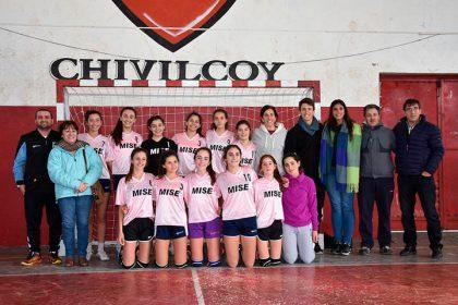 El Sub 14 de handball femenino ganó y viajará a Mar del Plata