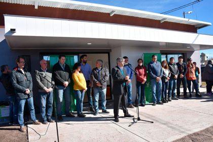 Se inauguró el SUM del Barrio Los Arces