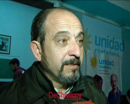 """Unidad Ciudadana: Fernando Poggio """"hemos hecho una elección muy interesante en Chivilcoy"""""""