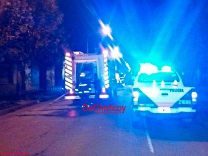 Habría sido intencional el incendio de un vehículo estacionado en la vía pública