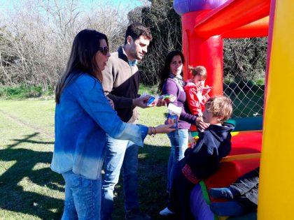 Ramón Biaus tuvo su fiesta por el Día del Niño