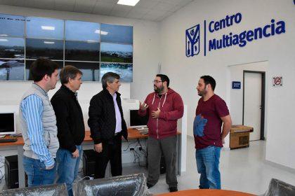 Técnicos de Nysoft brindaron especificaciones del sistema implementado en el Centro Multiagencia 911