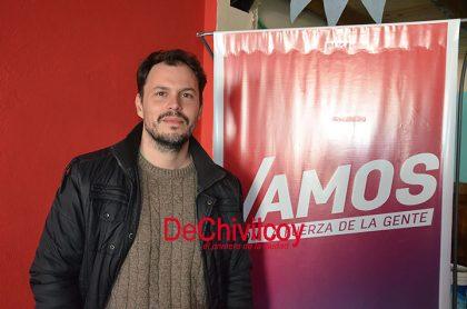 """Caselles: Vamos Chivilcoy camino a octubre """"hemos hecho una campaña austera, con esfuerzo y convicción"""""""