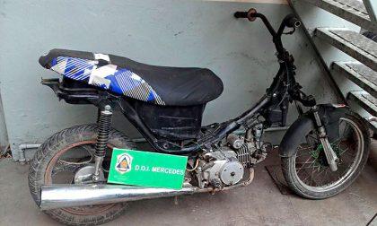 Secuestran una motocicleta con pedido de secuestro por hurto