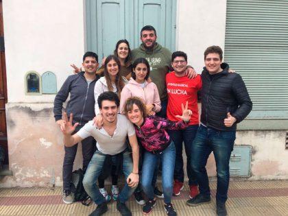 La Juventud Radical de Chivilcoy presente en la 29º Seccional en Alberti