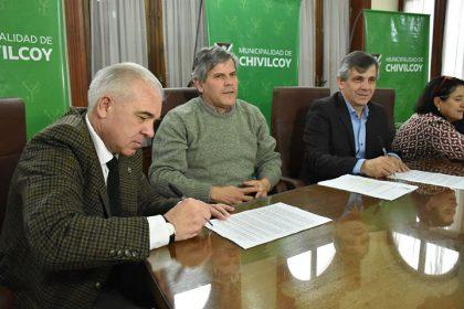 La Municipalidad firmó un convenio con el Colegio de Arquitectos de la Provincia