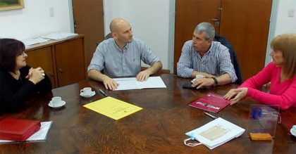 Alberti: Firma de convenio con la Facultad de Medicina de la UNLP