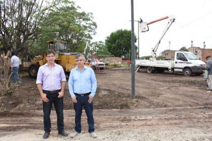 La Municipalidad está construyendo una plaza que fue anunciada hace 10 años