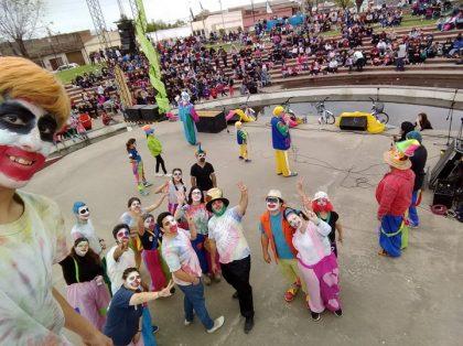 Se realizó la 21º edición de la Fiesta para los Chicos organizada por la Juventud Peronista