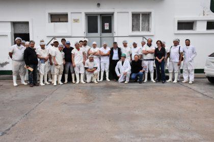 El intendente visitó el Frigorífico y Matadero Chivilcoy