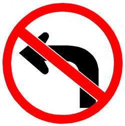 A partir del lunes comenzará a regir la prohibición de girar a la izquierda en la Avenida Ceballos