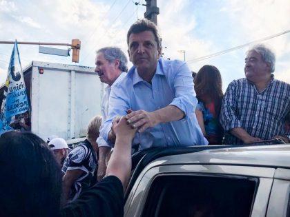 Massa entra en la recta final de una campaña electoral que será determinante para su futuro político