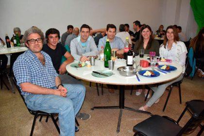 """Cena del equipo de ciclismo """"Ciudad de Chivilcoy"""""""