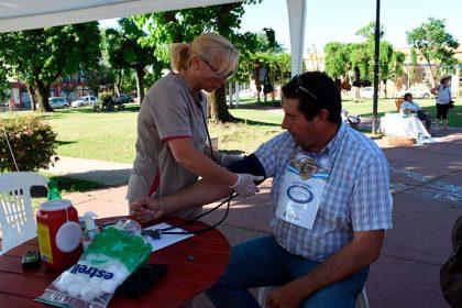 Día de la Diabetes en la Plaza Belgrano