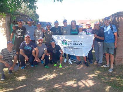 """El equipo de ciclismo """"Ciudad de Chivilcoy"""" viajó a Río Negro"""