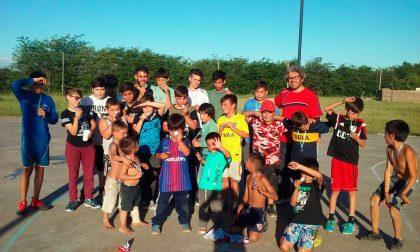 Jornada de fútbol en el Barrio Los Arces