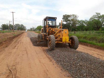 Obras públicas continúa trabajando en la Av. Hijas de San José