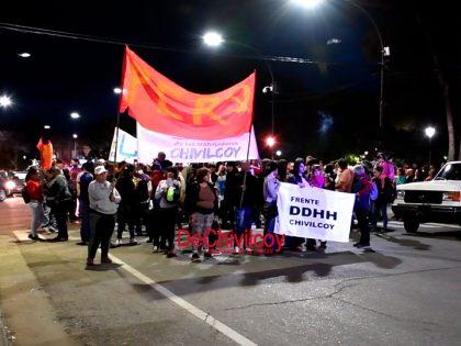 """Agrupaciones Políticas, de Derechos Humanos y vecinos marcharon reclamando """"Justicia por Santiago"""" [Video]"""